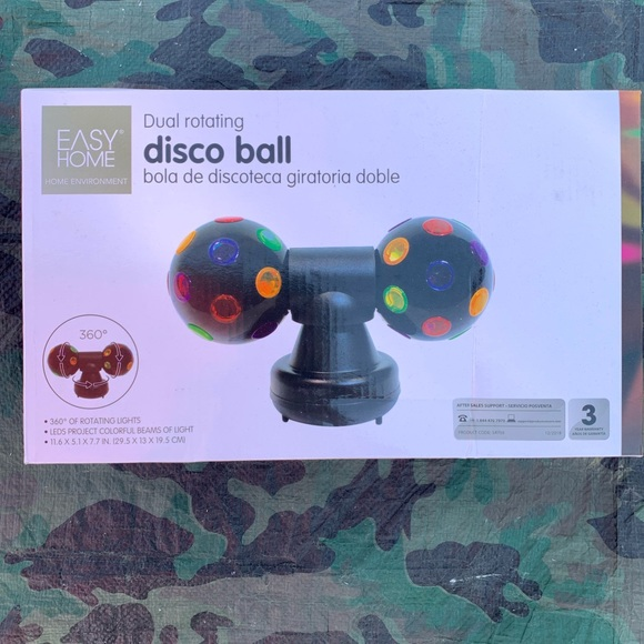 easy home Other - Rotating disco ball